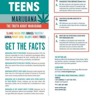 Tips for Teens Marijuana