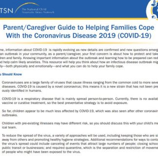 Parent Factsheet